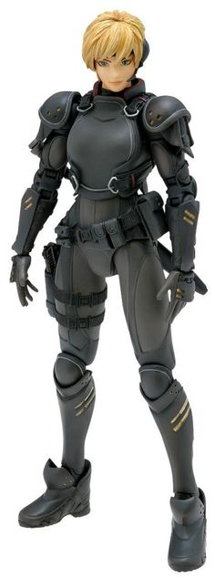 Appleseed EX Machina Deunan Knute Pre-Painted PVC Figure Scale. Appleseed EX Machina Saga. Female Character Concept, Character Art, Character Design, Anime Figures, Action Figures, Masamune Shirow, Sci Fi Armor, 1 10 Scale, Apple Seeds