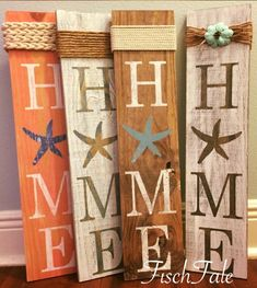 DIY Beach Signs are one of my favorite projects to work on. Its a perfect touch for my coastal theme home. DIY coastal decor projects are always great. Beach Signs Wooden, Nautical Signs, Nautical Anchor, Driftwood Signs, Rustic Signs, Diy Signs, Home Signs, Diy Pallet Projects, Wood Projects