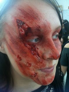 Emily St. Pierre - Make-up Artist: Injury Simulation