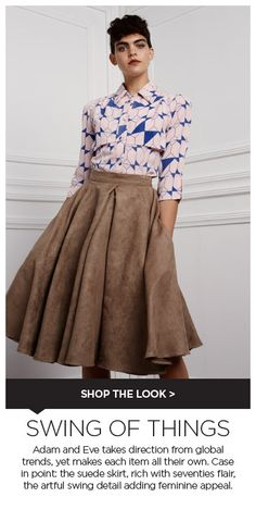 Discover the latest trends when you shop men's & women's fashion online. Fashion Showroom, Fashion Agency, Fresh Outfits, Adam And Eve, Suede Skirt, African Design, Buy Shoes, Best Brand, Boutiques