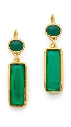 Kenneth Jay Lane Crystal Drop Earrings $75