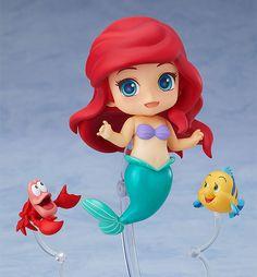 Good Smile Little Mermaid Ariel Nendoroid Figur (Japan Import) Ariel Disney, Disney Diy, Baby Disney, Disney Pixar, Disney Princess, Disney Characters, Manga Anime, Princess Party Invitations, Mickey Mouse