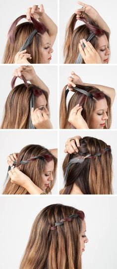 6 Easy DIY Braids The Style Canvas Prom Hairstyles For Short - hairstyles step by step quick open hairstyles step by step Prom Hair Medium, Medium Short Hair, Short Straight Hair, Short Hair Styles Easy, Curly Hair Styles, Prom Hairstyles For Short Hair, Cute Simple Hairstyles, Braids For Short Hair, Braided Hairstyles