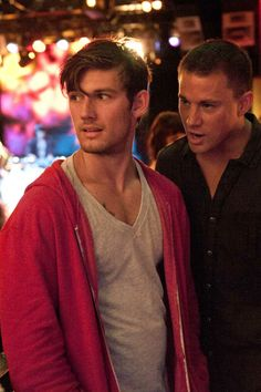 Alex Pettyfer + Channing Tatum- the 2 most perfect men in one movie/Magic Mike