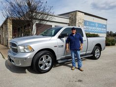 BILLY's new 2015 RAM  1500 ! Congratulations and best wishes from Benny Boyd Motor Company - Marble Falls and DEE NIXON.