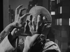"""Oh, please take this off me!"" -- from the Twilight Zone episode ""Eye of the Beholder"""