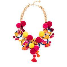 Kate Spade New York Pretty Poms Statement Necklace