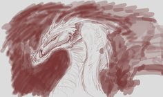 Dragon doodle for Studio Fisheye
