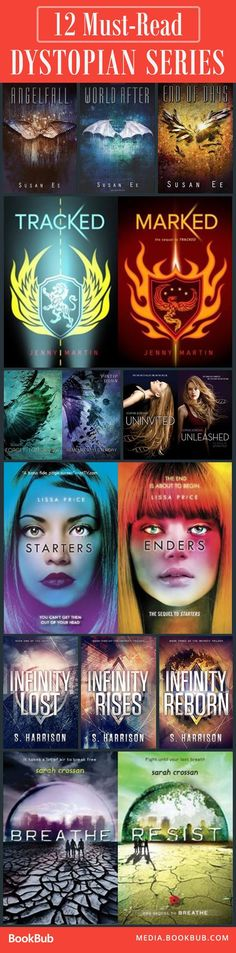 12 YA dystopian series to read. If you loved The Hunger Games or Divergent, this list is for you.