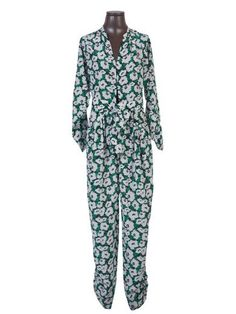 STELLA MCCARTNEY Stella Mccartney Overall Green. #stellamccartney #cloth #jumpsuits