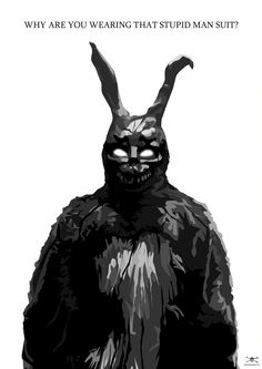 """Donnie Darko - """"Why are you wearing that stupid man suit?"""""""