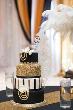 Great Gatsby Wedding Cake Toronto