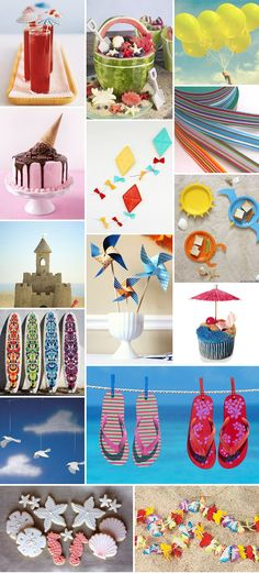 Just the kind of ideas I need for our beach birthday party.