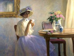 Time for tea....Maher Art Gallery: Gregory Frank Harris