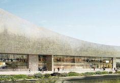 ヘルツォーク&ド・ムーロンの設計によるイスラエル国立図書館の画像が公開されました。 © Herzog & de Meuro