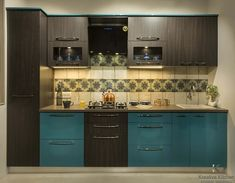 A modular kitchen is the best part of any interior design. The modular kitchen is set with all the required appliances and proper furniture. Modular kitchens are like small kitchens it is very easy… Kitchen World, Kitchen Fittings, Kitchen Size, Kitchen Design, Small Kitchen, Kitchen Modular, Kitchen, Kitchen Interior, Straight Kitchen