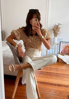 Pantalones Palazzo - @lolo_bravoo