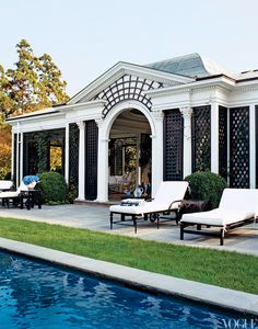 Tory Burch's South Hampton home