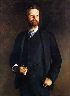 Henry Cabot Lodge, 1890 - John Singer Sargent
