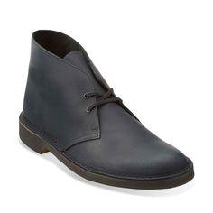 Size 9 - Desert Boot Black Beeswax Leather originals-mens-desert-boots