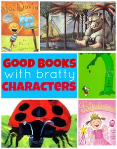 From No Time for Flash Cards: good books with bratty characters and why you should read them.