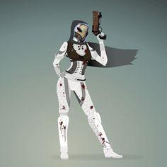 Destiny - Female Hunter.gif