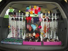 Awesome idea! You can literally sell Paparazzi Jewelry & Accessories, ANYWHERE!!!  :) www.paparazziaccessories.com/19759
