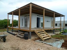 container homes plans Shipping Container Homes: Criens, Trimo - Bonaire, Caribbean - Shipping Container Home Who Else Wants Simple Step-By-Step Plans To Design And Build A Container Home From Scratch? Shipping Container Cabin, Cargo Container Homes, Shipping Container Home Designs, Building A Container Home, Storage Container Homes, Container House Plans, Container House Design, Shipping Containers, Storage Containers