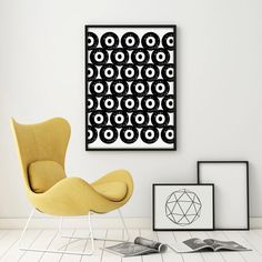 Abstract Art Geometric Art Minimalist Digital Print Poster Oversized Gallery Wall Large Kunst Graphics Dots Circle Druck PRINTABLE Art