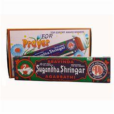 Aravinda #Sugandha Shringar #Incense #Sticks (Pack of 12)