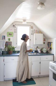 Faith Blakeney's Joyful, Art-Filled Kitchen