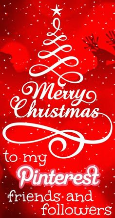 No Pin Limits on My Boards... Merry Christmas to my Pinterest friends and followers ♥