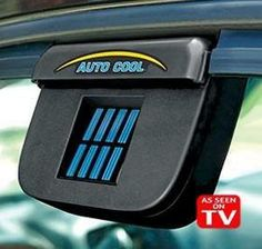 This device keeps your car cool when it's parked in the sun Solar Panel System, Panel Systems, Solar Powered Cars, Safety Kit, Trunk Organization, Tech Toys, Power Cars, See On Tv, Car Detailing