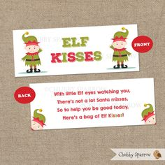 The elf elves and printables on pinterest