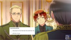 Hetalia text post. Pay attention to the 2p
