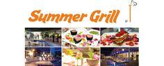 Ogni giovedì di luglio e agosto al THotel vi aspetta il SummerGrill con un menu sempre diverso. Dalle ore 8 nel Giardino d'Inverno.