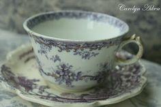 Aiken House & Gardens: More Transferware Teacups