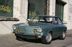 1971 Fiat 850 Sport Coupe