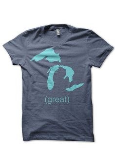 Great Lakes tshirt by 517Shirts on Etsy, $20.00