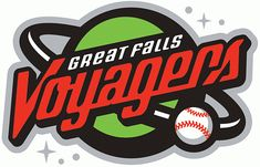 Great Falls Voyagers Primary Logo (2008) -