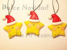 Rb Artesanías Polymer Clay Ornaments, Fimo Clay, Polymer Clay Projects, Polymer Clay Creations, Polymer Clay Art, Jumping Clay, Polymer Clay Christmas, Clay Baby, Christmas Crafts