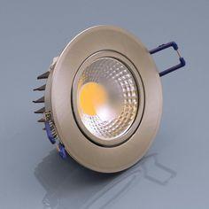 Wundervoll LED Einbaustrahler 5W warmweiß rund Einbauspot Spot Einbau-LED  NO73