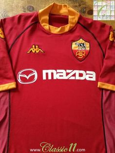 Official Kappa Roma home football shirt from the 2002/2003 season.