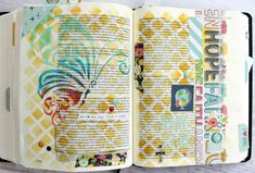 Clear Scraps Bible Journaling-Whimsical Butterfly Mascil - Scrapbook.com
