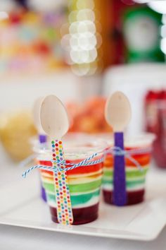 Rainbow Mickey Mouse birthday party via Kara's Party Ideas KarasPartyIdeas.com Printables, cake, favors, supplies, recipes, and more! #micke...
