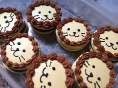 Image result for lion macarons