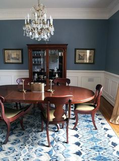 The Best Dining Room Paint Color Dining Rooms Dining room paint colors, Dining room colors Hi Here we have best photo about dining room pa. Dining Room Blue, Dining Room Walls, Living Room Paint, Dining Room Design, Room Chairs, Kitchen Dining, Best Dining Room Colors, Dinning Room Paint Ideas, Homemade Home Decor