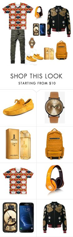 """Mask'd"" by mixthatfit on Polyvore featuring Nuevo, Tod's, Ted Baker, Paco Rabanne, NIKE, Beats by Dr. Dre, Samsung, Dries Van Noten, men's fashion and menswear"