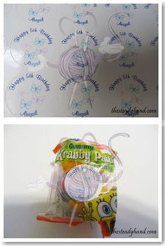 Review & Giveaway: Win a $25 Gift Cert to CustomCandyBarWrapper.com! Open to US Ends 4/19/13