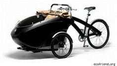 Bicicletta ecologica Sidecar